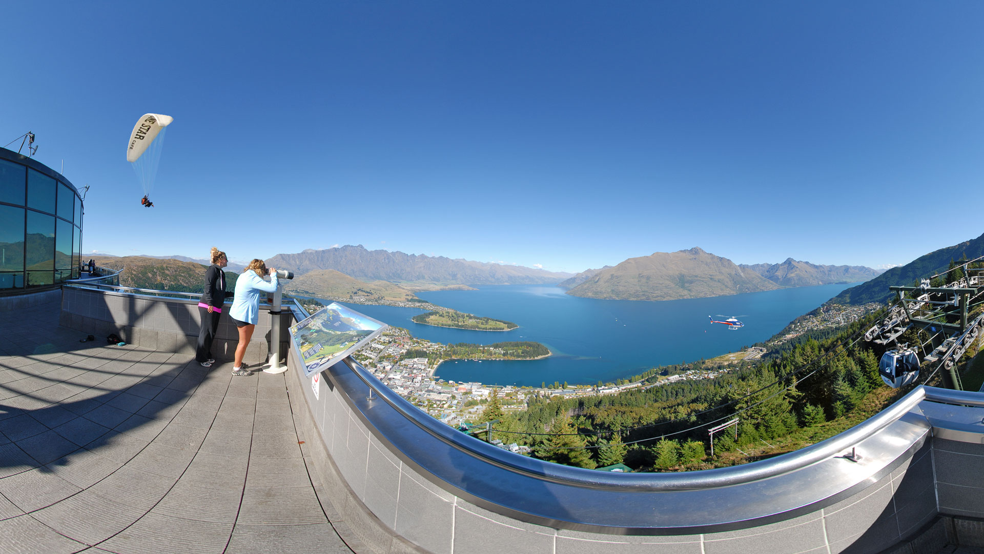 viewing platform Skyline Queenstown